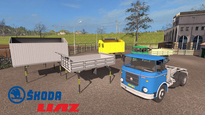 Skoda Liaz 706 with swap bodies V 1.1.0.3