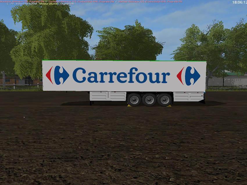 TRAILER Schmitz Carrefour v 1.0