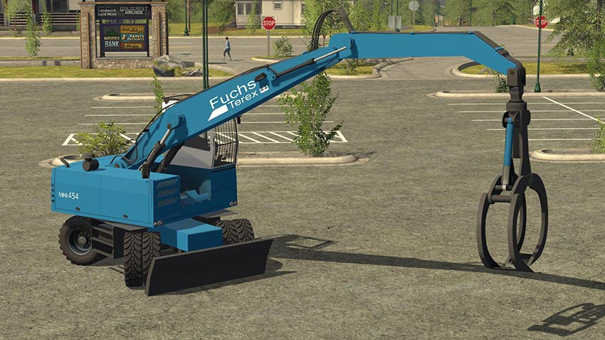 Terex Fuchs MHL 454 Update BETA