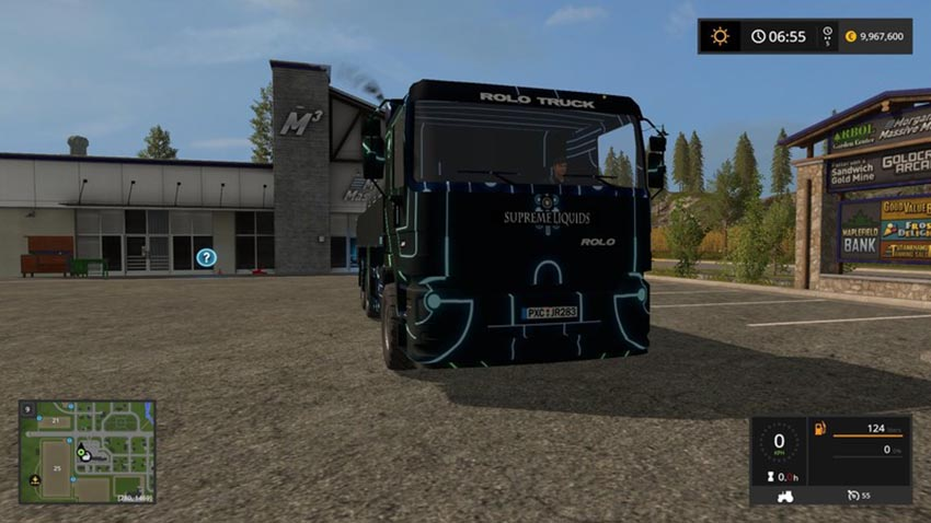 Tron Truck V 1.0