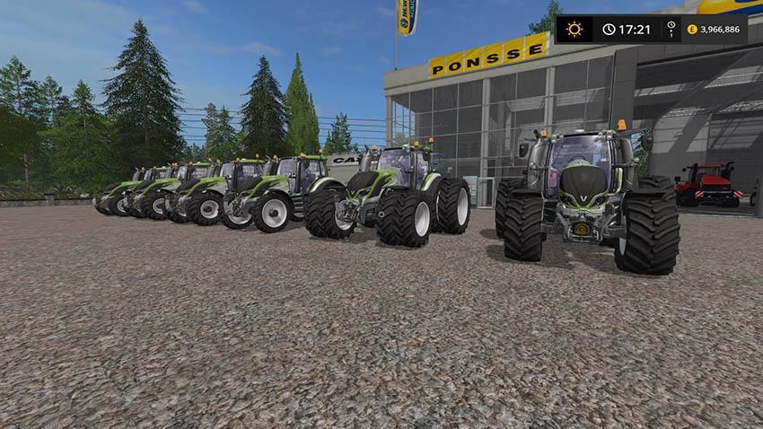 Valtra Tractor Update