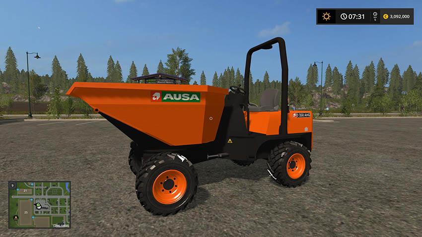 Ausa D350 AHG v 1.0