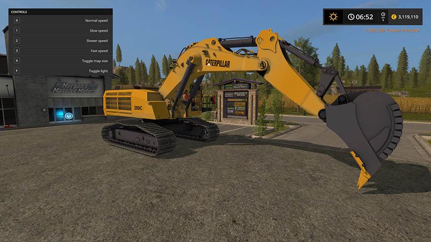 Cat Excavator 289C v 1.0
