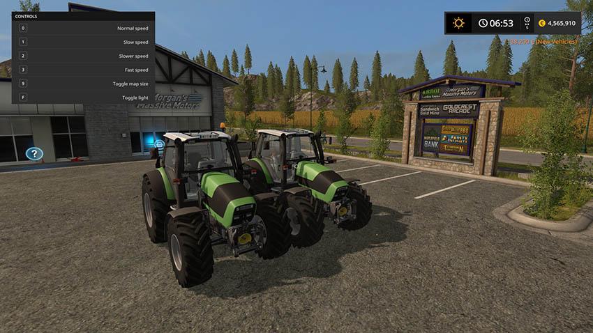 Deutz Fahr Agrotron M620 – M650 v 2.0