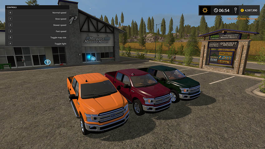 Ford F150 2018 Ramps v 2.0