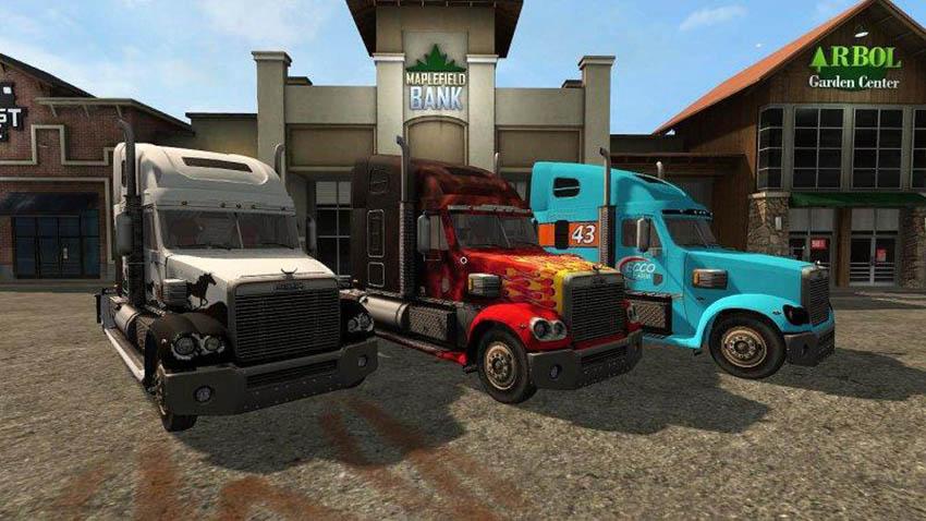 Freightliner Coronado v 1.0