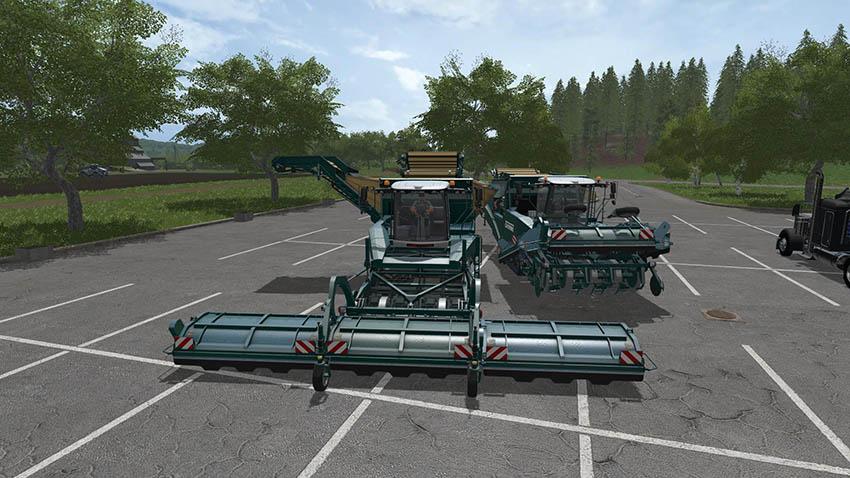Grimme Tectron 415 Potato / Subar Beet Update v 3.0
