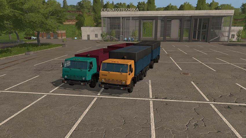 Kamaz 53212 Czap 8357 v 2.0