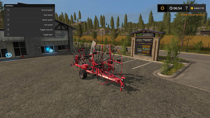 LELY Windrowers With Attacher v 1.0