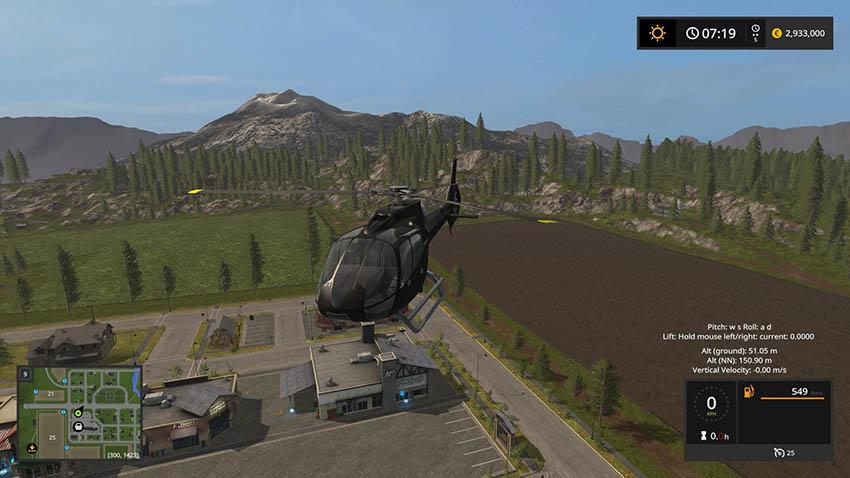 Light Foresty Helicopter v 1.0