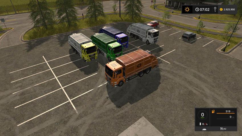 MAN garbage truck V 1.0