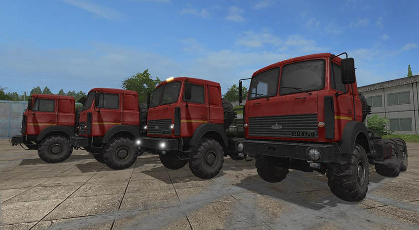 MAZ 6317 Gear box v 2.3.2