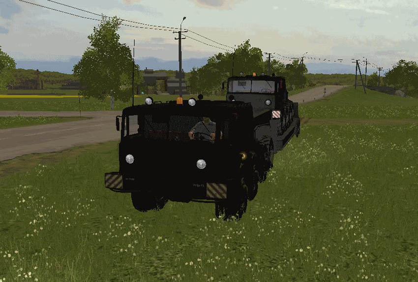 MAZ URAGAN + Trailer v 1.0.0.1