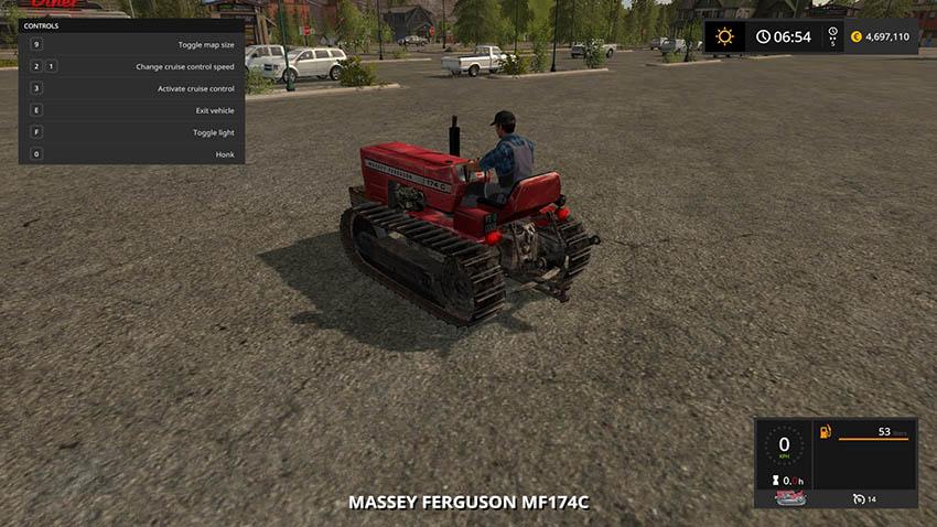 Massey Ferguson 174 C v 1.0