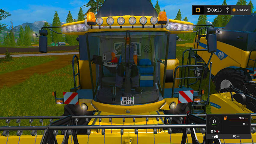 New Holland CX8080 v 1.0