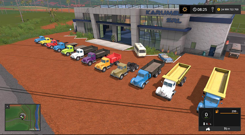 Pack MAZ / YAAZ 200 + Trailers v 1.1