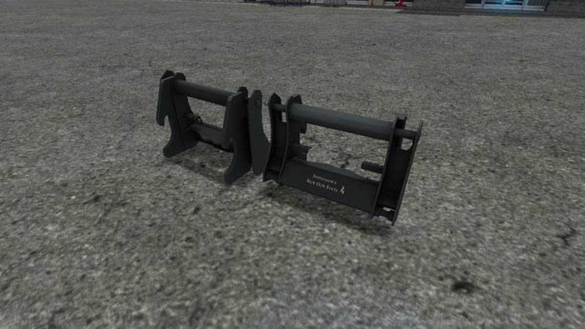 Telehandler To WheelLoader Adapter V 1.0