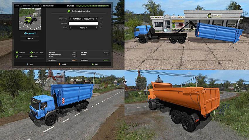URAL Hooklift v 1.0