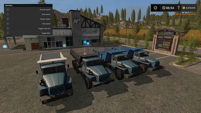 Ural 4320 Pack v 1.0