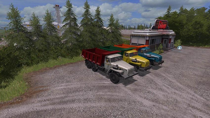 Ural 4320 samosval v 2.0