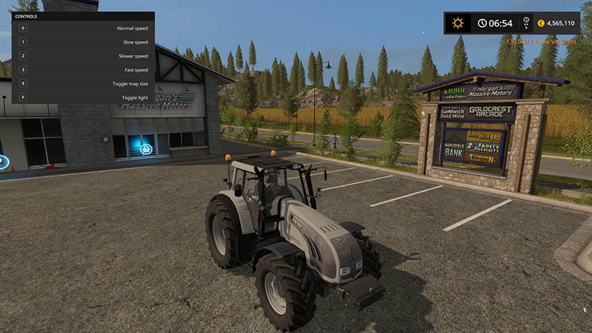Valtra T163 GREY v 1.0
