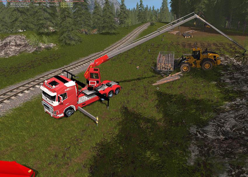 Volvo Fh16 750 Logging v 1.0