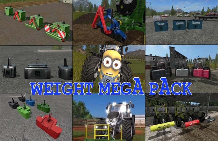 WEIGHT MEGA PACK v 1.0