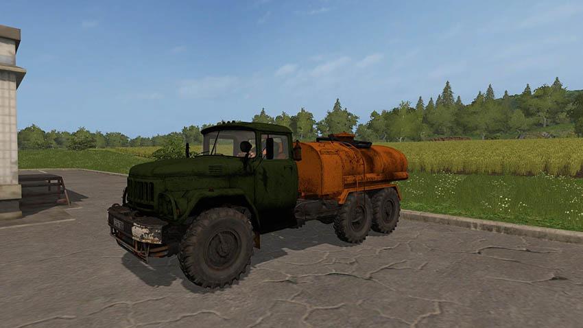 ZIL-131 Tank Gasoline v 1.2