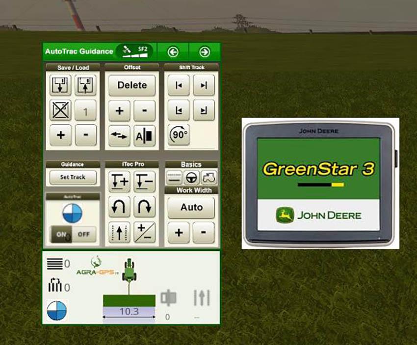 AgraGPS John Deere AutoTrac Mod v 1.0