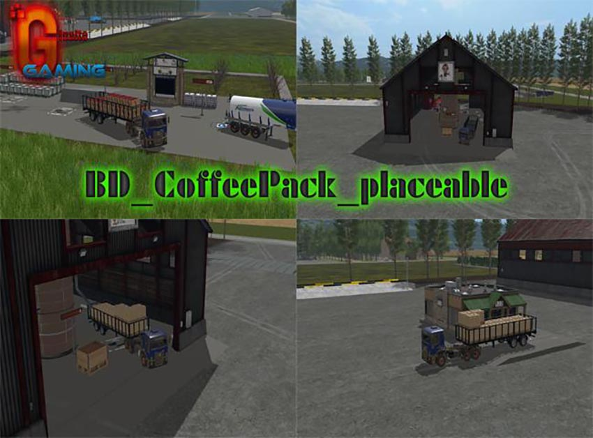 BD Coffee Pack placeable v 1.0