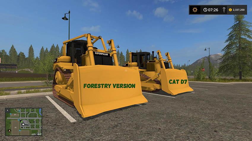 CAT D7 Redux v 2.0