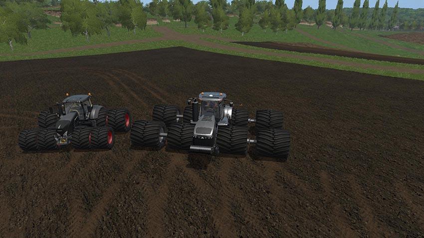 Challenger MT900 Black & Fendt 900 Vario Black v 1.0