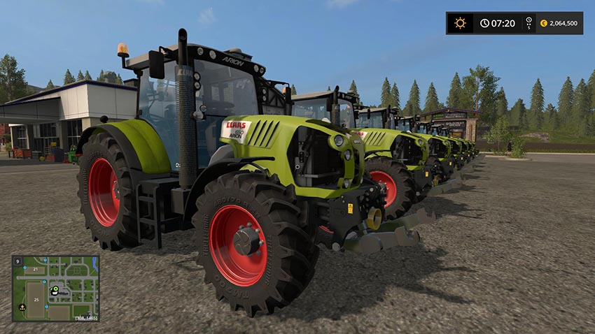 Claas Arion Series v 1.0
