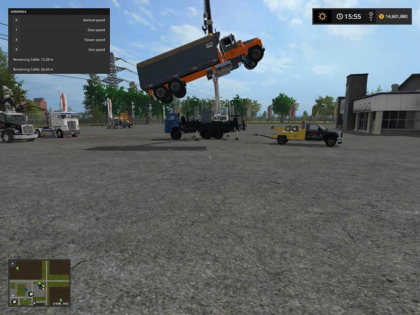 Crane Kamaz 43118 - 46 v 1.0