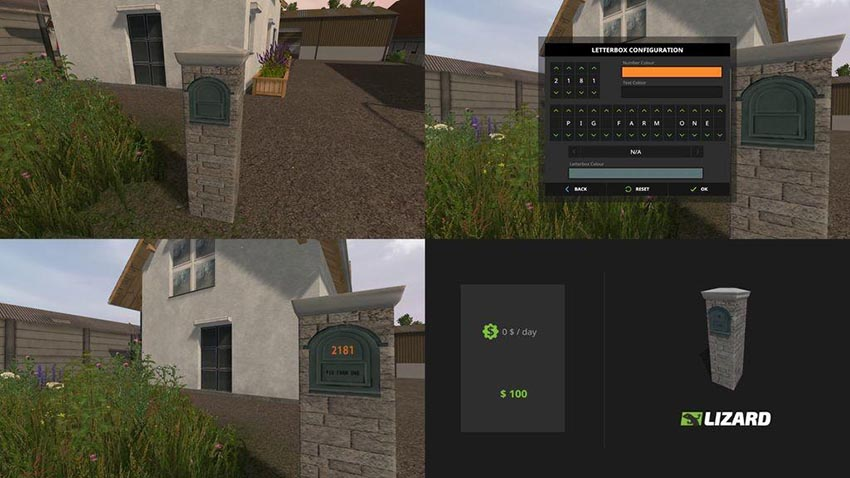 Customisable Letterboxes v 1.0