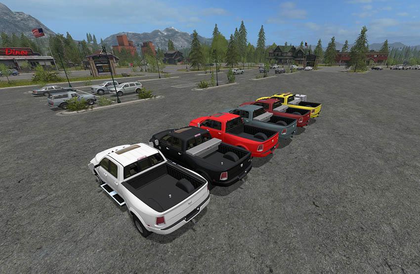 Dodge Ram 3500 Customizable v 1.5