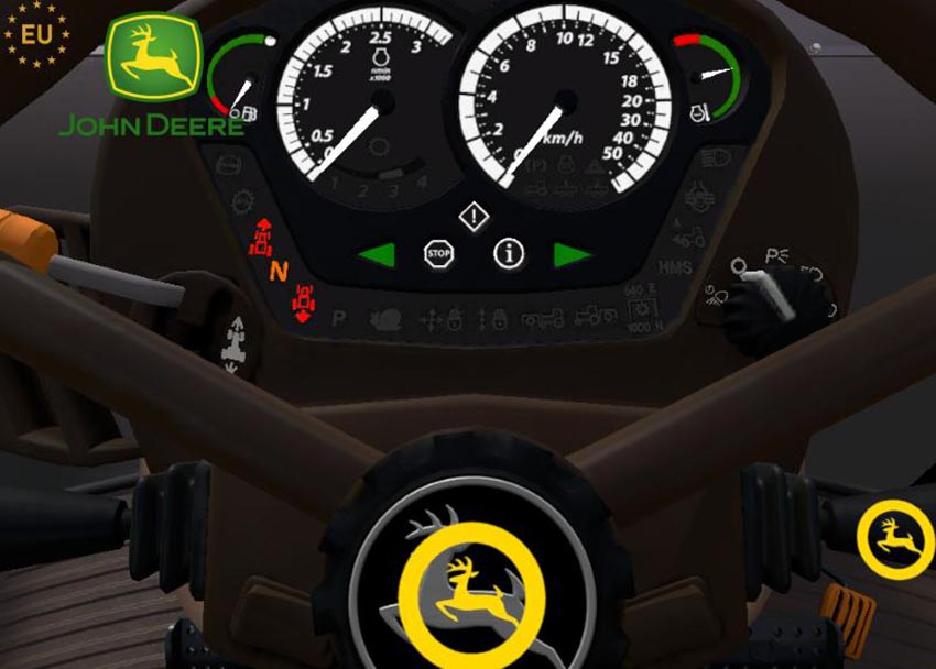 John Deere 7030 E Premium Series + weight v 2.0.1.5