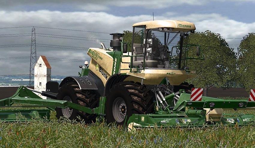 Krone BiG M500 Plus v 1.0