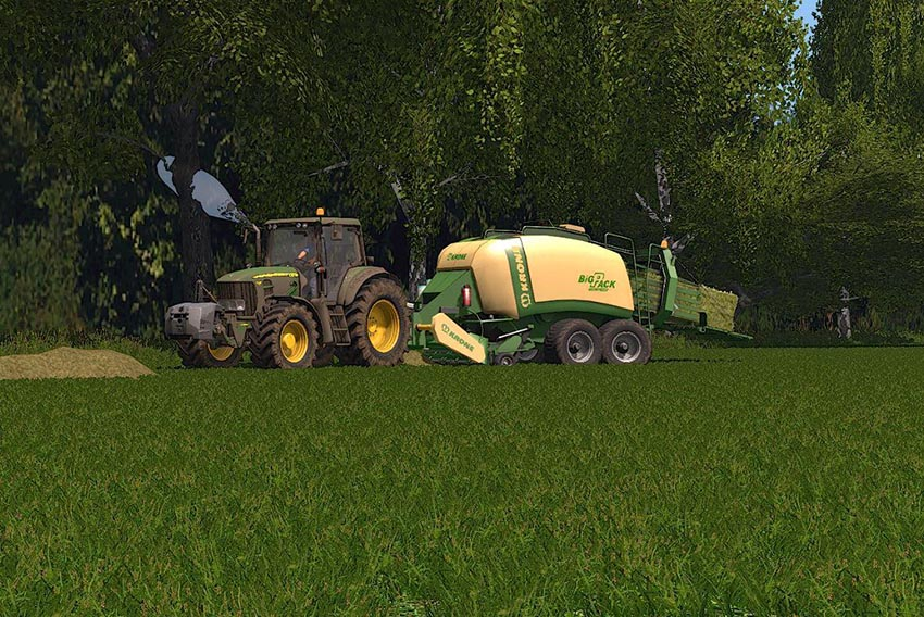 Krone BigPack 1290 - Knife attachment - DH v 1.0