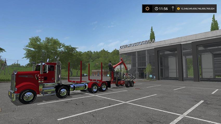 Logging Truck T908 v 1.0