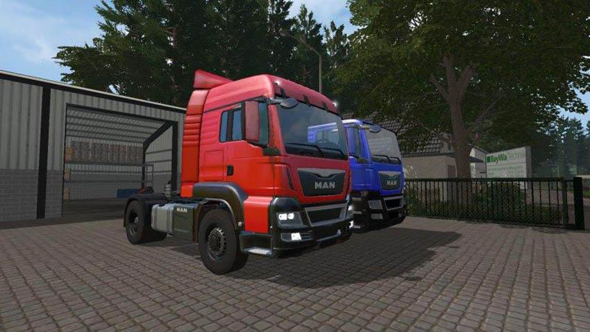 MAN TGS Truck v 17.0