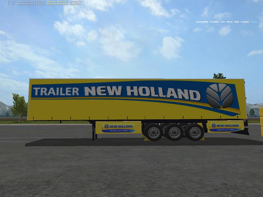 New Holland Yellow 3and1 v 1.1