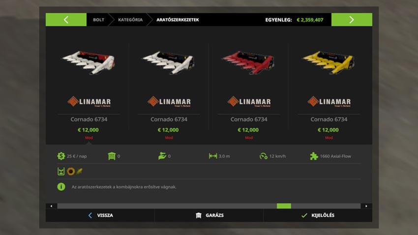 Oros Cornado Pack V 1.0