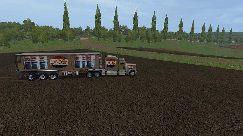 Pepsi Cola Truck & Trailer v 1.0