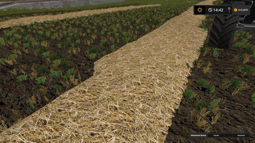 Real Straw Texture v 1.0