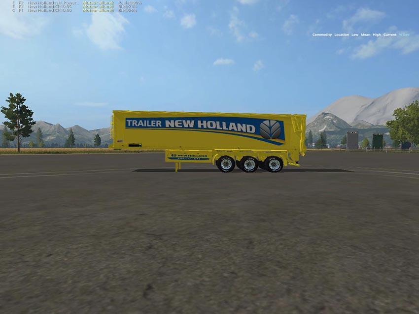 Trailer NH Yellow Bulk v 1.5