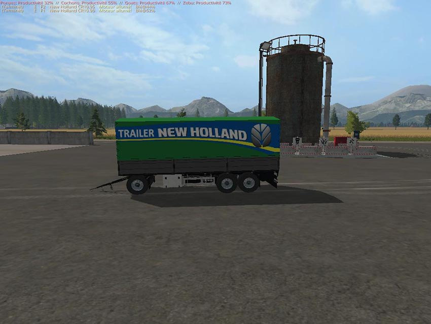 Trailer New Holland Krone UAL v 1.0