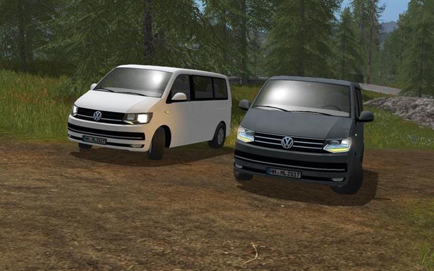 Volkswagen T6 Multivan v 0.5