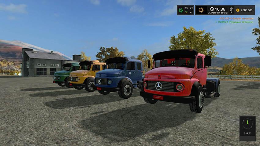 Мercedes Benz B1519 v 1.0