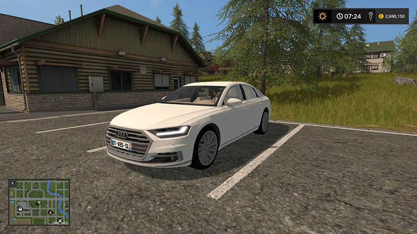 Audi mods for farming simulator 2017 | LS2017 com
